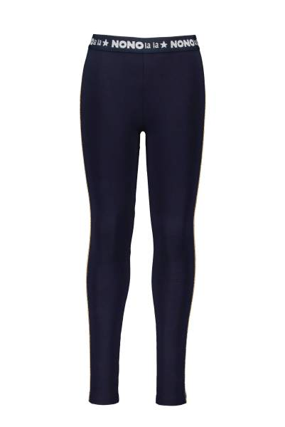 Sole legging with bronze piping
