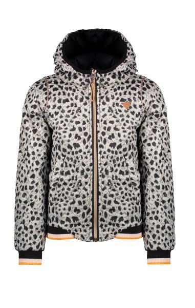Billy hooded summer jacket in Hibiscus Flower AOP and in AOP Animal