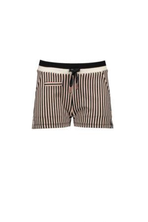 Shorty short in Japanese stripe on punta