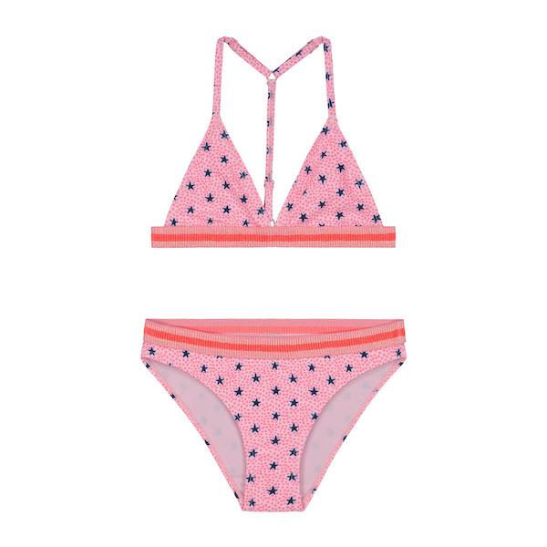 girls stardust triangle bikini