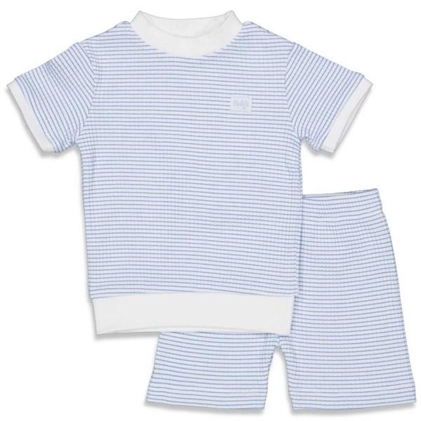 Pyjama kort wafel NOS